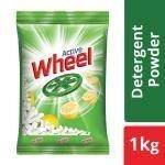 Active Wheel Lemon & Jasmine Detergent Powder 1 kg