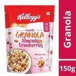 Kellogg's Crunchy Granola With Almonds & Cranberries 145 g