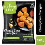 ITC Master Chef Cheesy Corn Triangles 320 g