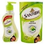 Santoor Fresh Handwash (215 + 180) ml