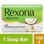Rexona Silky Soft Skin Coconut & Olive Oil Soap 100 g