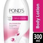Pond's Triple Vitamin Silky Smooth Moisturising Lotion 300 ml