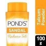 Pond's Sandal Natural Sunscreen Radiance Talc 100 g