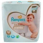 Pampers Premium Care Pants (M) 22 count (7 - 12 kg)