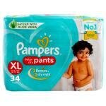 Pampers Baby Dry Pants (XL) 34 count (12 - 17 kg)