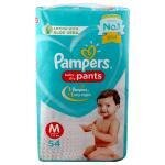 Pampers Baby Dry Pants (M) 50 count (7 - 12 kg)