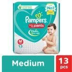 Pampers Baby Dry Pants (M) 13 count (7 - 12 kg)