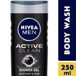 Nivea Men Active Clean Shower Gel 250 ml