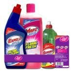 My Home 3 in 1 Cleaning Combo Pack (500 ml + 500 ml + 250 ml)