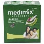 Medimix Ayurvedic 18-Herbs Classic Soap 125 g (Pack of 3)