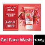 Lakme Blush & Glow Strawberry Blast Face Wash 150 g