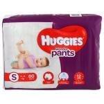Huggies Wonder Pants (S) 60 count (4 - 8 kg)
