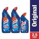 Harpic Power Plus Original Disinfectant Toilet Cleaner 1 L (Buy 2 Get 1 500 ml Free)
