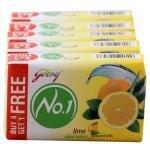 Godrej No.1 Lime & Aloe Vera Soap 100 g (Pack of 4)
