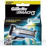 Gillette Mach3 Shaving Cartridge 3 Blades 2 pcs