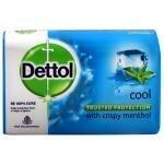 Dettol Cool Soap with Crispy Menthol 125 g
