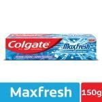 Colgate Max Fresh Peppermint Ice Blue Gel Toothpaste 150 g
