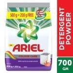 Ariel Colour Care Detergent Powder 500 g (Get Extra 200 g Free)