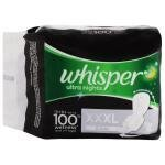 Whisper Ultra Nights Sanitary Napkin with Wings (XXXL) 3 pads