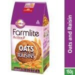Sunfeast Farmlite Active Oats Biscuits With Raisins 150 g