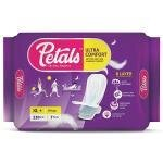 Petals Ultra Comfort Sanitary Napkin with Wings (XL+) 7 pads