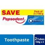 Pepsodent Germi Check Cavity Protection Toothpaste 150 g (Pack of 2)