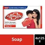 Lifebuoy Total Soap 125 g (Buy 3 Get 1 Free)