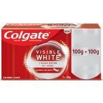 Colgate Visible White Sparkling Mint Toothpaste 100 g (Pack of 2)