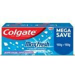 Colgate Maxfresh Peppermint Ice Blue Anticavity Toothpaste 150 g (Pack of 2)