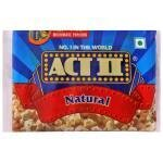 Act II Natural Microwave Popcorn 33 g