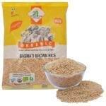 24 Mantra Organic Brown Basmati Rice 1 kg