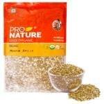Pro Nature Organic Green Split Chilka Moong 500 g