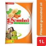 Gemini Filtered Groundnut Oil 1 L