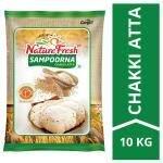 Nature Fresh Sampoorna Chakki Whole Wheat Atta 10 kg