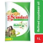 Gemini Refined Soyabean Oil 1 L