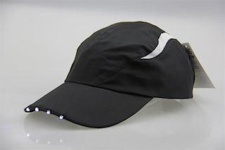 LED cap (zwart)