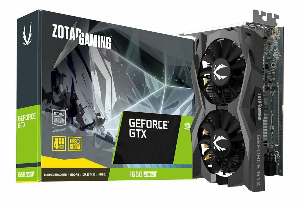 ZOTAC GeForce GTX 1650 SUPER Twin Fan 4GB GDDR6 Video Card
