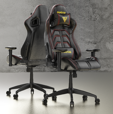 GAMDIAS APHRODITE MF1-L Black/Red Gaming Chair