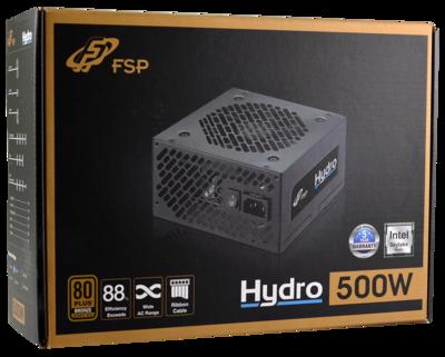 FSP HYDRO 500W 80PLUS BRONZE P0WER SUPPLY