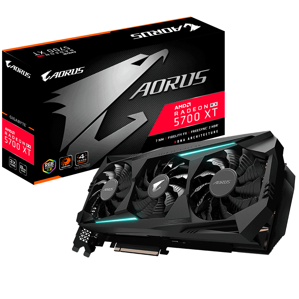 AORUS Radeon™ RX 5700 XT 8GB GDDR6 256-bit Video Card
