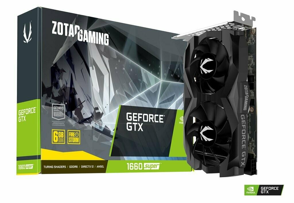 ZOTAC GAMING GeForce GTX 1660 SUPER Twin Fan 6GB GDDR6 Video Card