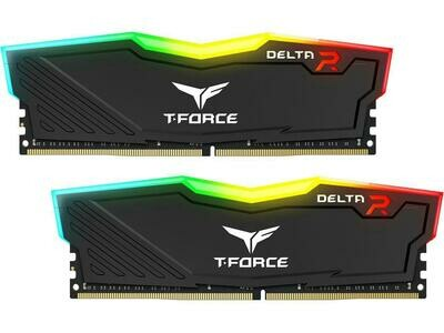 TEAMGROUP DELTA RGB 16GB (2 x 8GB) DDR4 3600MHz Memory Kit