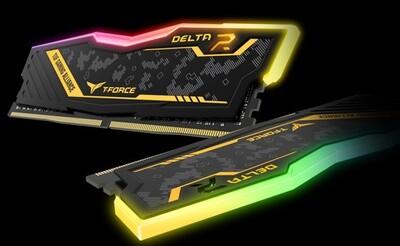 TEAMGROUP DELTA TUF RGB 16GB (2 x 8GB) DDR4 3200MHz Memory Kit