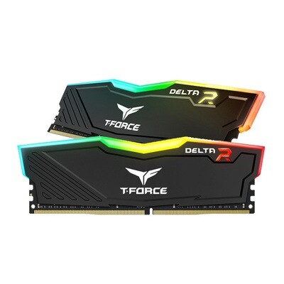 TEAMGROUP DELTA RGB 16GB (2 x 8GB) DDR4 3000MHz Memory Kit
