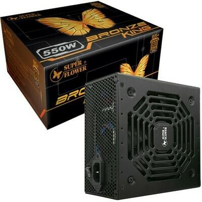 SuperFlower Bronze King 550W 80Plus Bronze Non-Modular 80Plus Power Supply