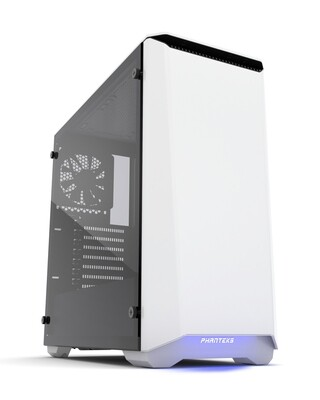 Phanteks ECLIPSE P400 White Tempered Glass Case