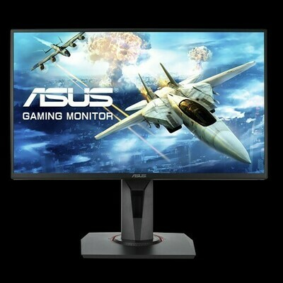 "ASUS VG258QR Gaming Monitor - 24.5"", Full HD, 0.5ms*, 165Hz, G-SYNC Compatible, Adaptive Sync"