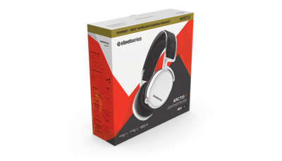 SteelSeries ARCTIS 7 2019 Edition Wireless Gaming Headset (White) Best wireless gaming headset — PC Gamer