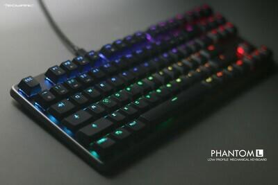 Tecware Phantom L RGB Low Profile Mechanical Keyboard