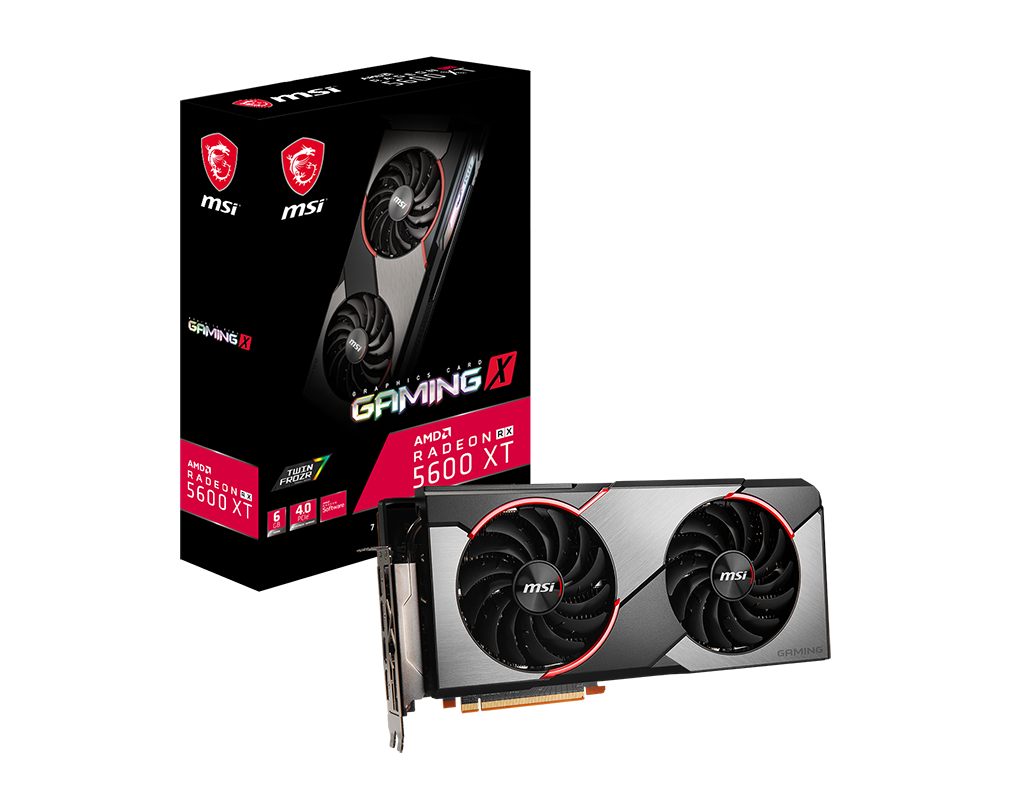 MSI Radeon RX 5600 XT Gaming X 6GB GDDR6 192-bit Video Card